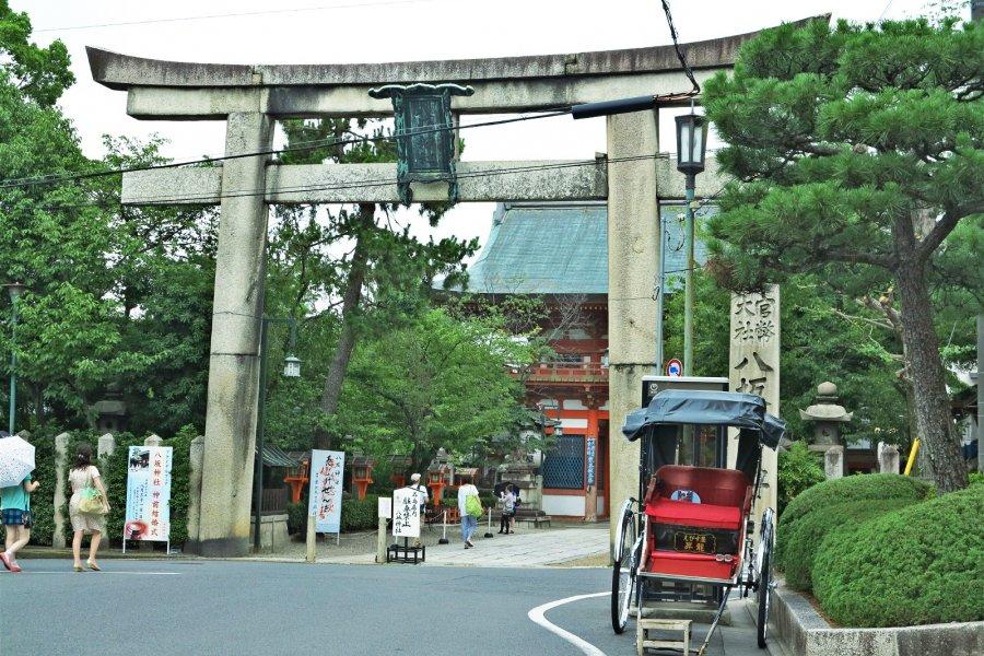 八坂神社:祗园祭