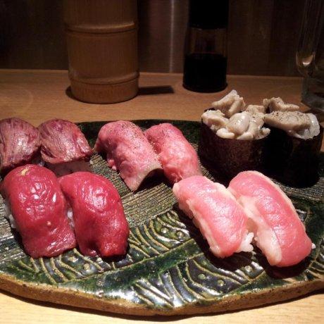 肉寿司三轩茶屋